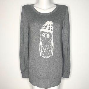 EUC Banana Republic owl sweater.